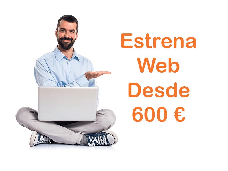 Diseño de paginas web oferta